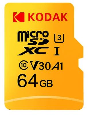 Kodak Micro SD Card U3 A1 V30 64GB